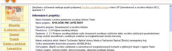 Lokálne Partnerstvo Sociálnej Inklúzie Turiec